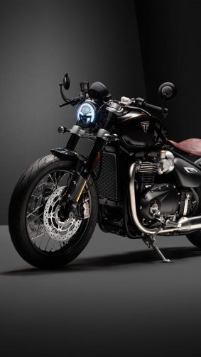 Triumph Bonneville Bobber TFC 2020 4K Ultra HD Mobile Wallpaper