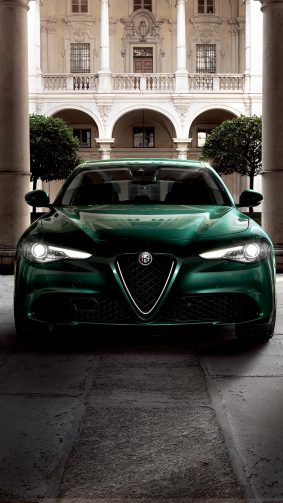 Alfa Romeo Giulia TI 2019 4K Ultra HD Mobile Wallpaper
