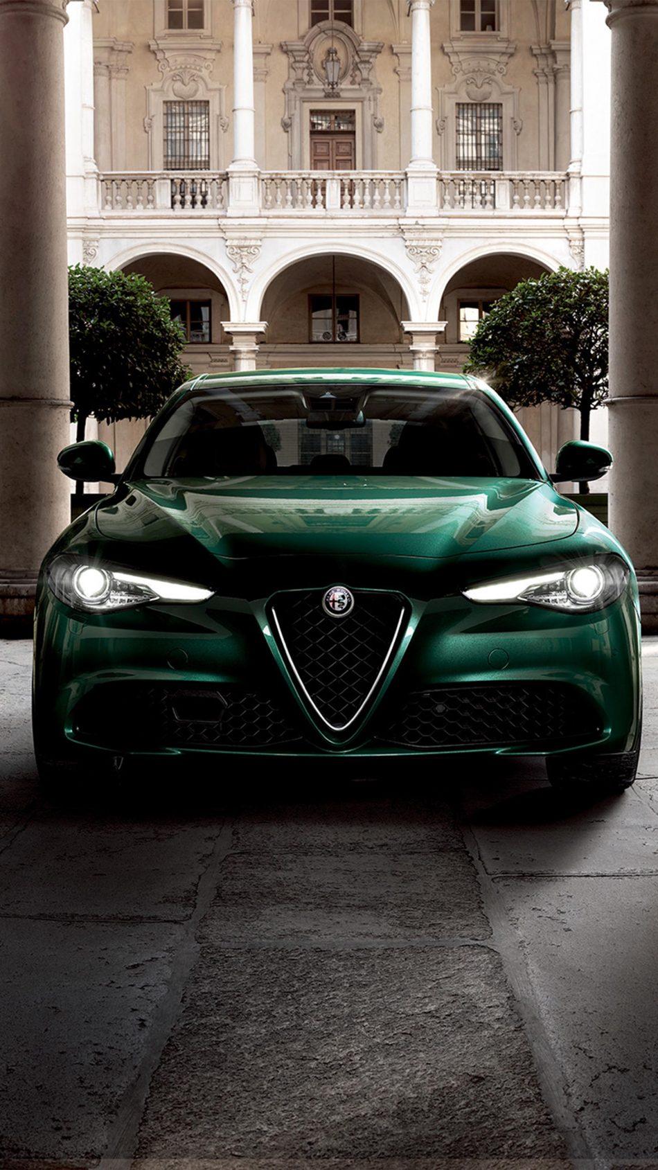 Alfa Romeo Giulia TI 2019 4K Ultra HD Mobile Wallpaper
