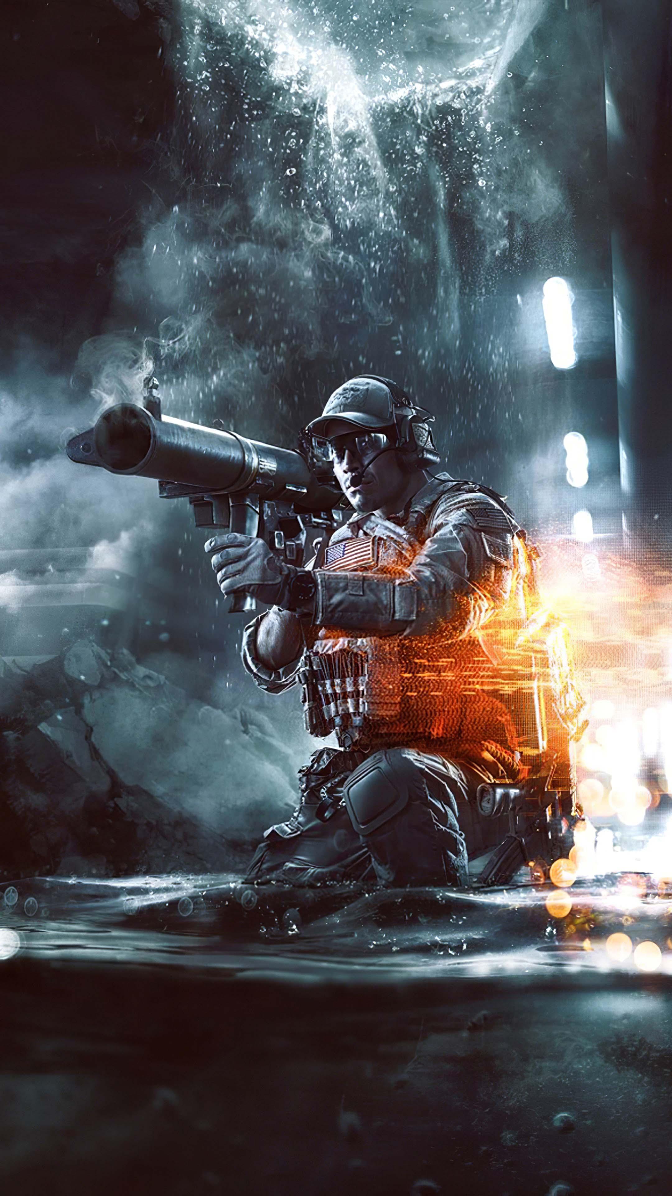 Battlefield 4 2019 Soldier 4K Ultra HD Mobile Wallpaper
