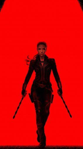 Scarlett Johansson In Black Widow 2020 4K Ultra HD Mobile Wallpaper