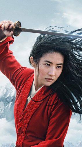 Yifei Liu In Mulan 2020 4K Ultra HD Mobile Wallpaper