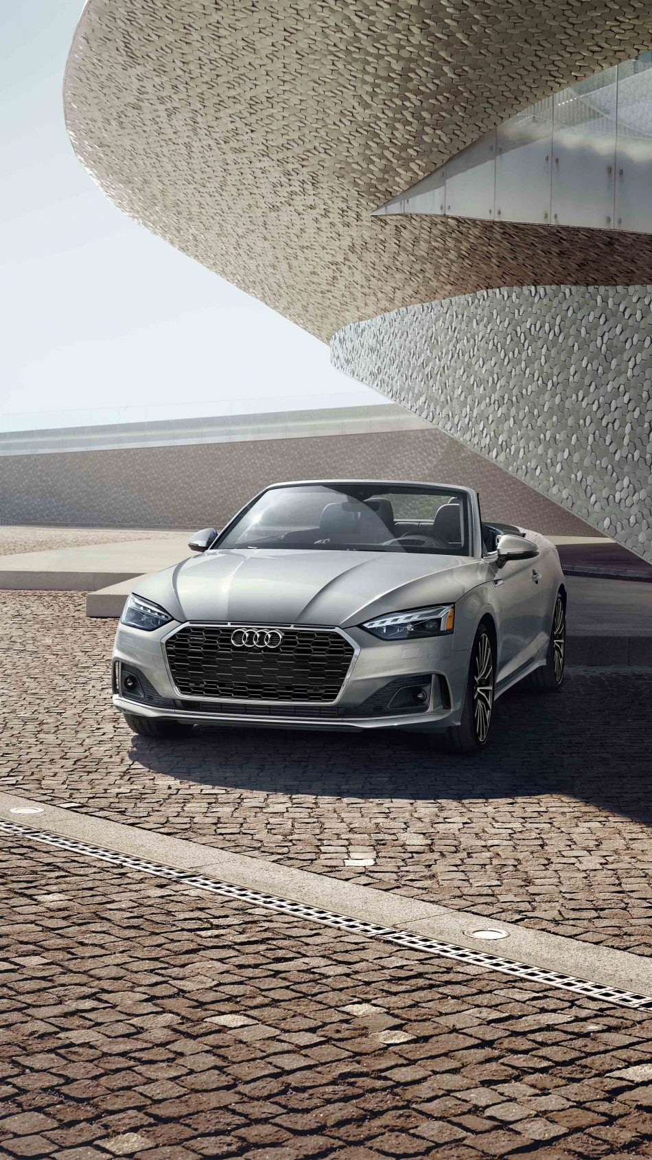 Audi A5 Cabriolet 45 TFSI 2020 4K Ultra HD Mobile Wallpaper