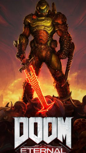 Doom Eternal 2020 4K Ultra HD Mobile Wallpaper
