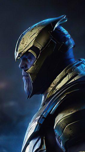 Thanos Artwork 4K Ultra HD Mobile Wallpaper