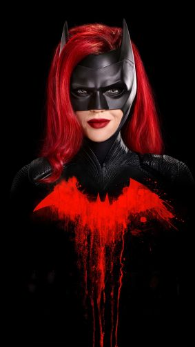 Batwoman Dark Background 4K Ultra HD Mobile Wallpaper