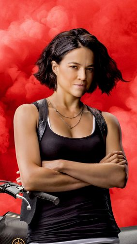 Michelle Rodriguez In F9 The Fast Saga 4K Ultra HD Mobile Wallpaper
