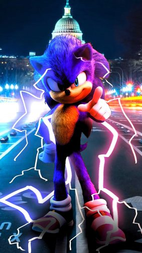 Sonic The Hedgehog Poster 2020 4K Ultra HD Mobile Wallpaper