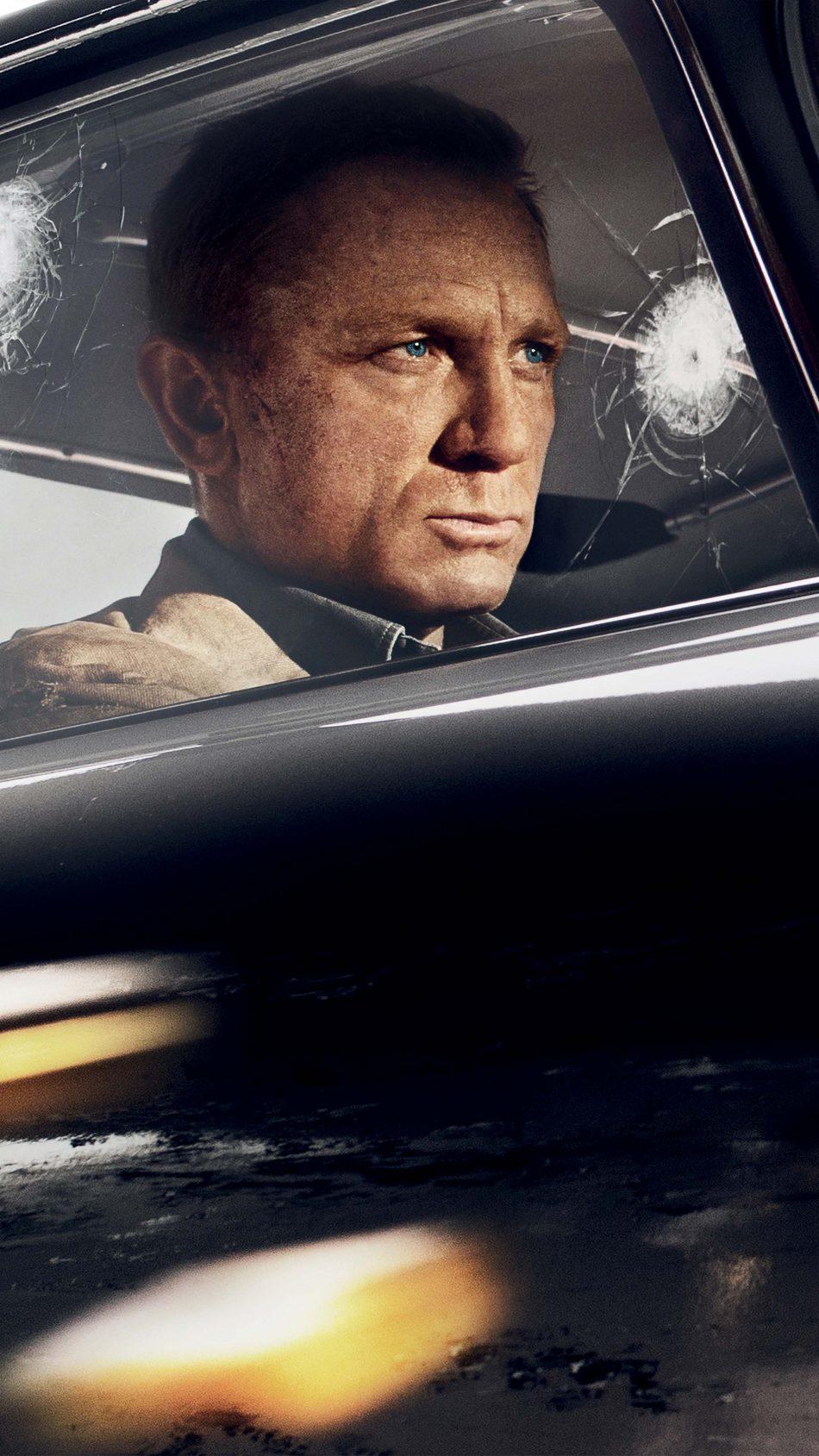 Daniel Craig In No Time To Die 2020 4K Ultra HD Mobile Wallpaper