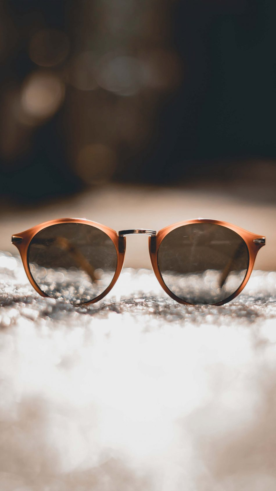 Sunglass Bokeh Background 4K Ultra HD Mobile Wallpaper