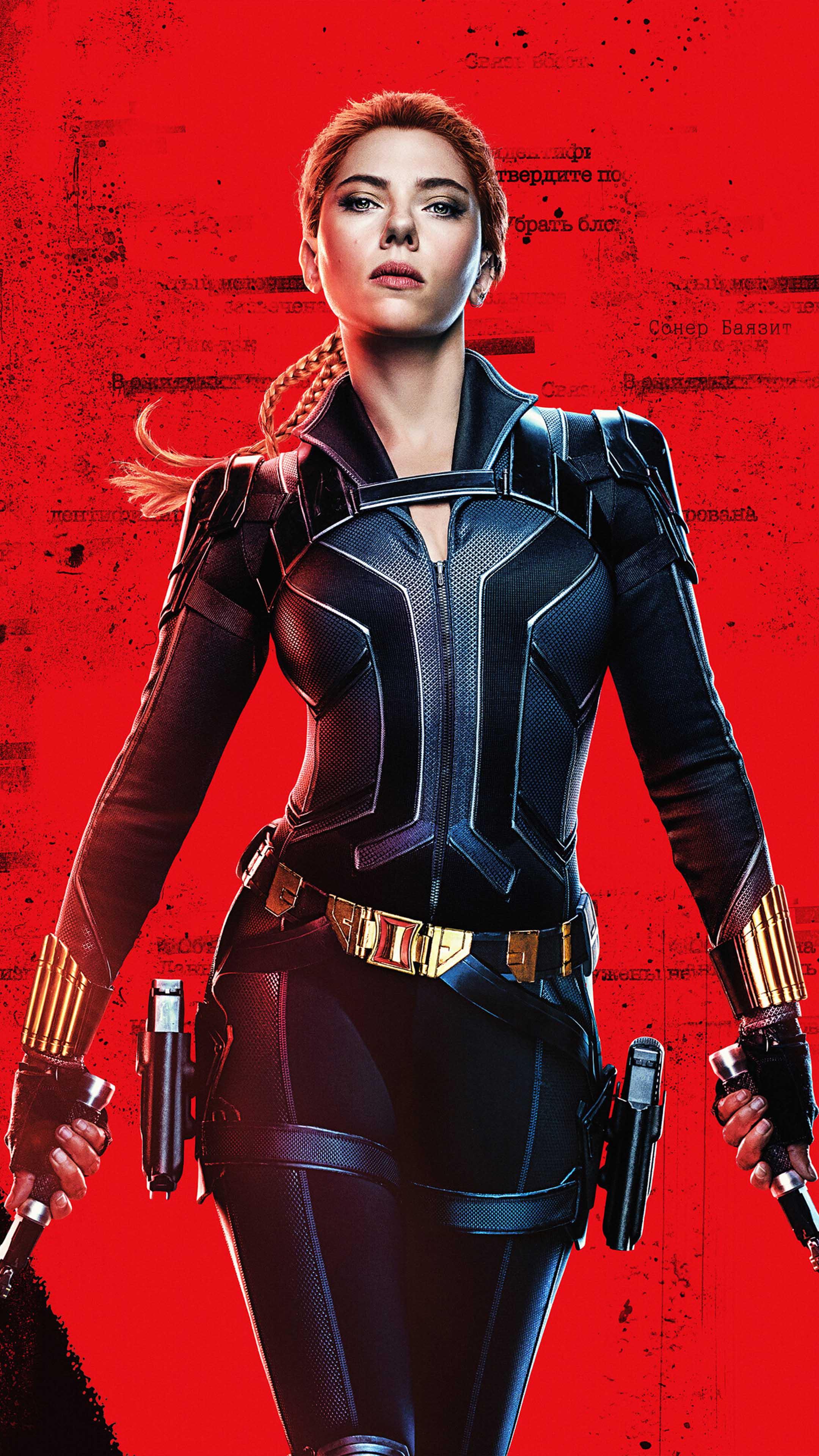 Scarlett Johansson In As Black Widow 4k Ultra Hd Mobile Wallpaper