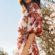 Actress Ana de Armas Tree Flowers 4K Ultra HD Mobile Wallpaper