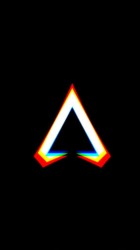 Apex Legends Logo Dark Background 4K Ultra HD Mobile Wallpaper