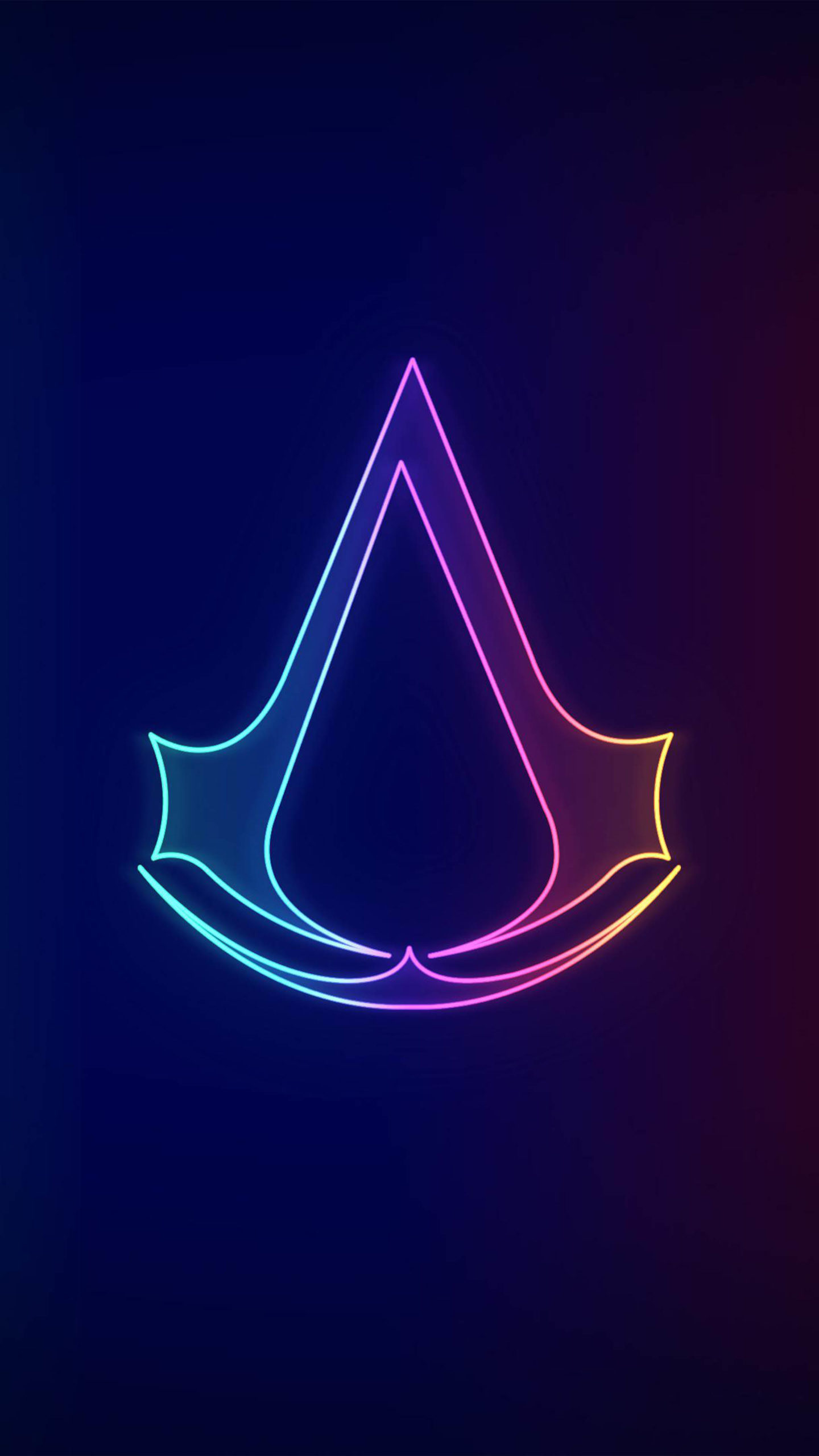 Assassin S Creed Valhalla Neo Logo 4k Ultra Hd Mobile Wallpaper