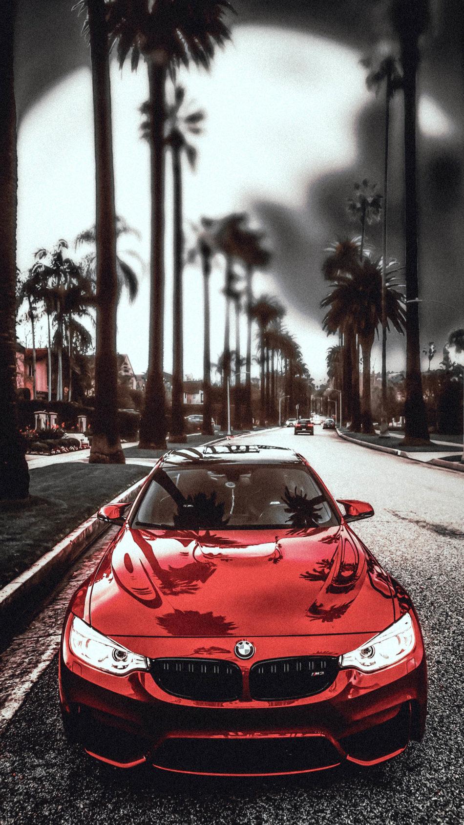 BMW M3 Red 4K Ultra HD Mobile Wallpaper