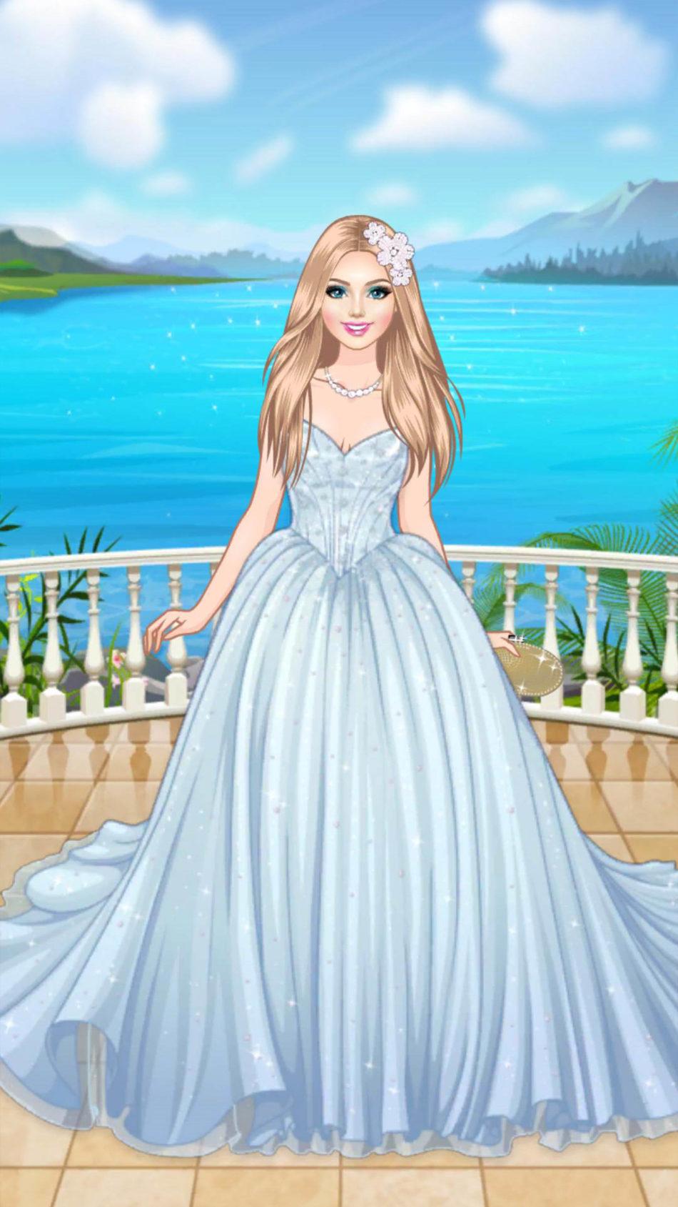 Beautiful Fairy Girl In Wedding Dress 4K Ultra HD Mobile Wallpaper