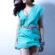 Beautiful Shruti Hassan In Blue Dress 4K Ultra HD Mobile Wallpaper