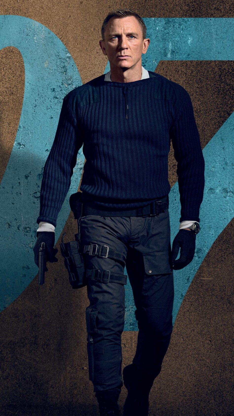 Daniel Craig No Time To Die 2020 Movie 4K Ultra HD Mobile Wallpaper