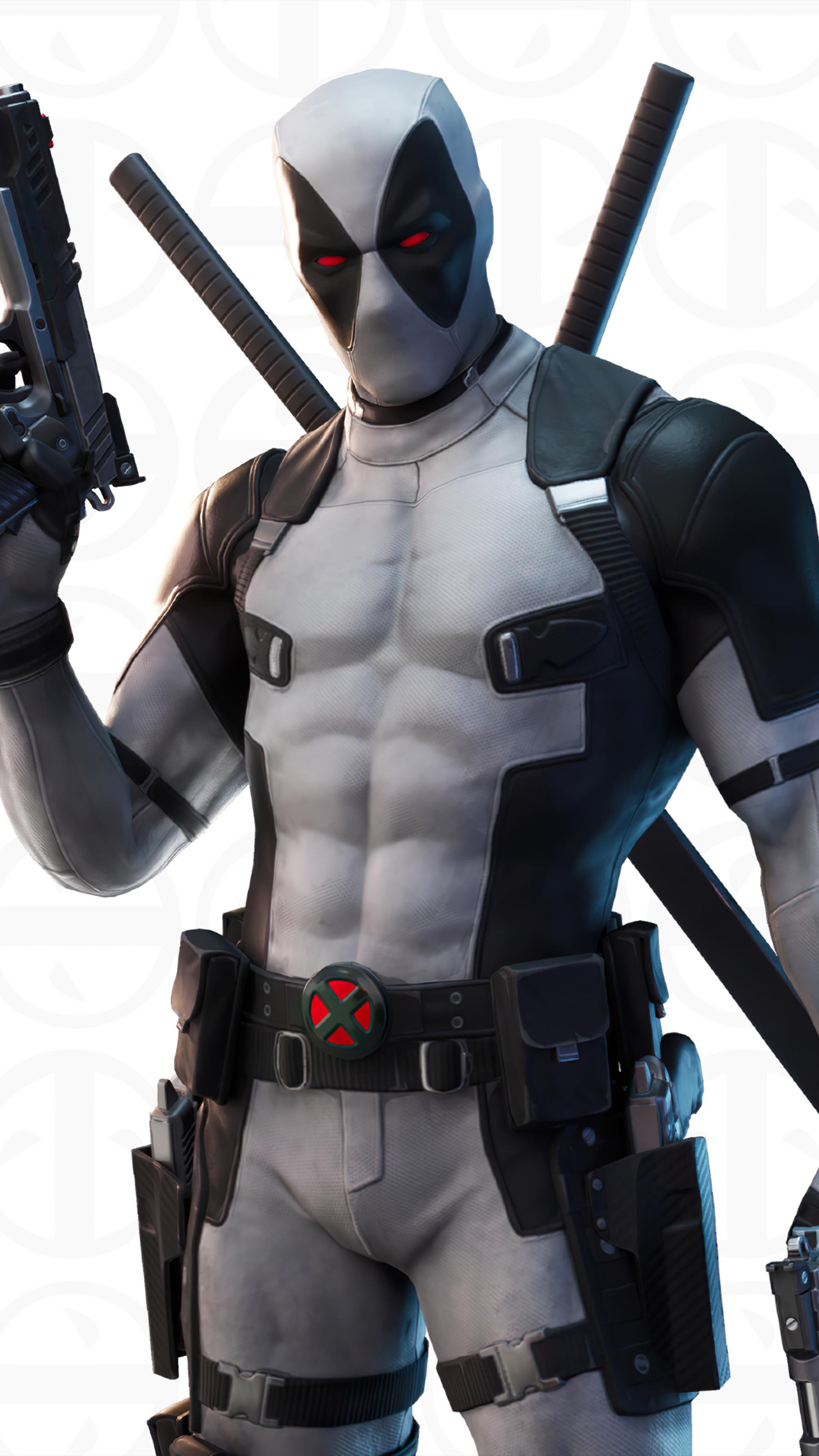Deadpool X Force Fortnite 4k Ultra Hd Mobile Wallpaper