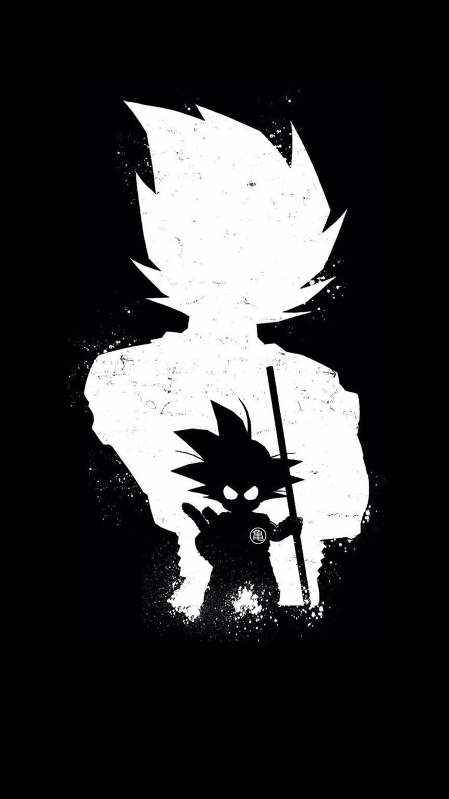 Goku Dark Black Minimal 4k Ultra Hd Mobile Wallpaper