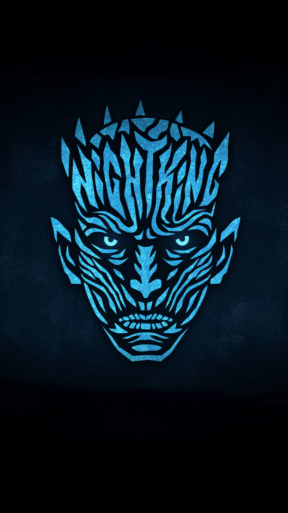 Night King Minimal 4K Ultra HD Mobile Wallpaper
