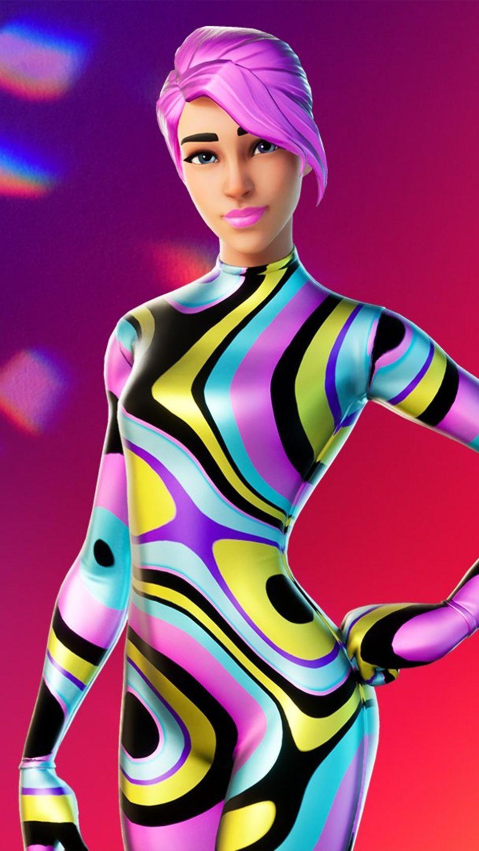 Nightlife Fortnite Skin Free 4K Ultra HD Mobile Wallpaper