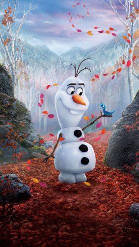 Olaf Frozen 4K Ultra HD Mobile Wallpaper