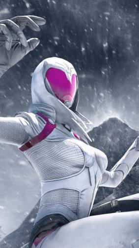PUBG Girl Snow Skin 4K Ultra HD Mobile Wallpaper