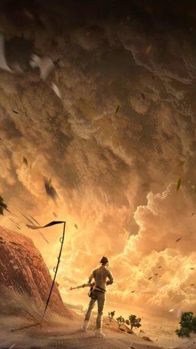 PUBG Sandstorm Mad Miramar 4K Ultra HD Mobile Wallpaper