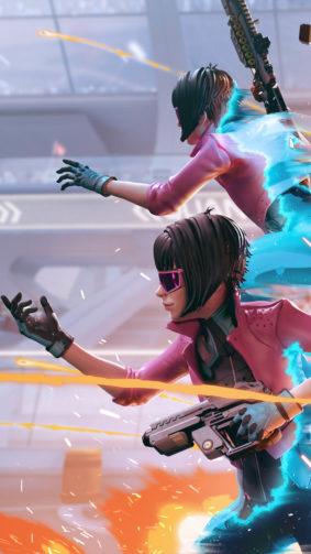 Quantum League Girl Guns 4K Ultra HD Mobile Wallpaper