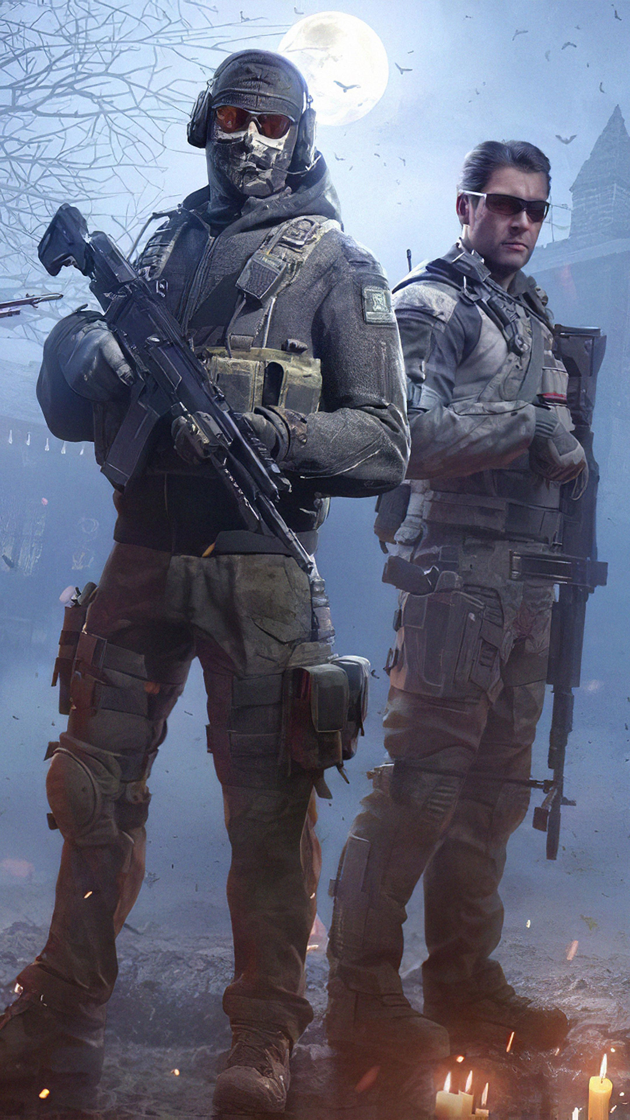 Squad Call Of Duty Mobile 4k Ultra Hd Mobile Wallpaper