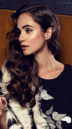 Actress Alicia Sanz 2020 4K Ultra HD Mobile Wallpaper