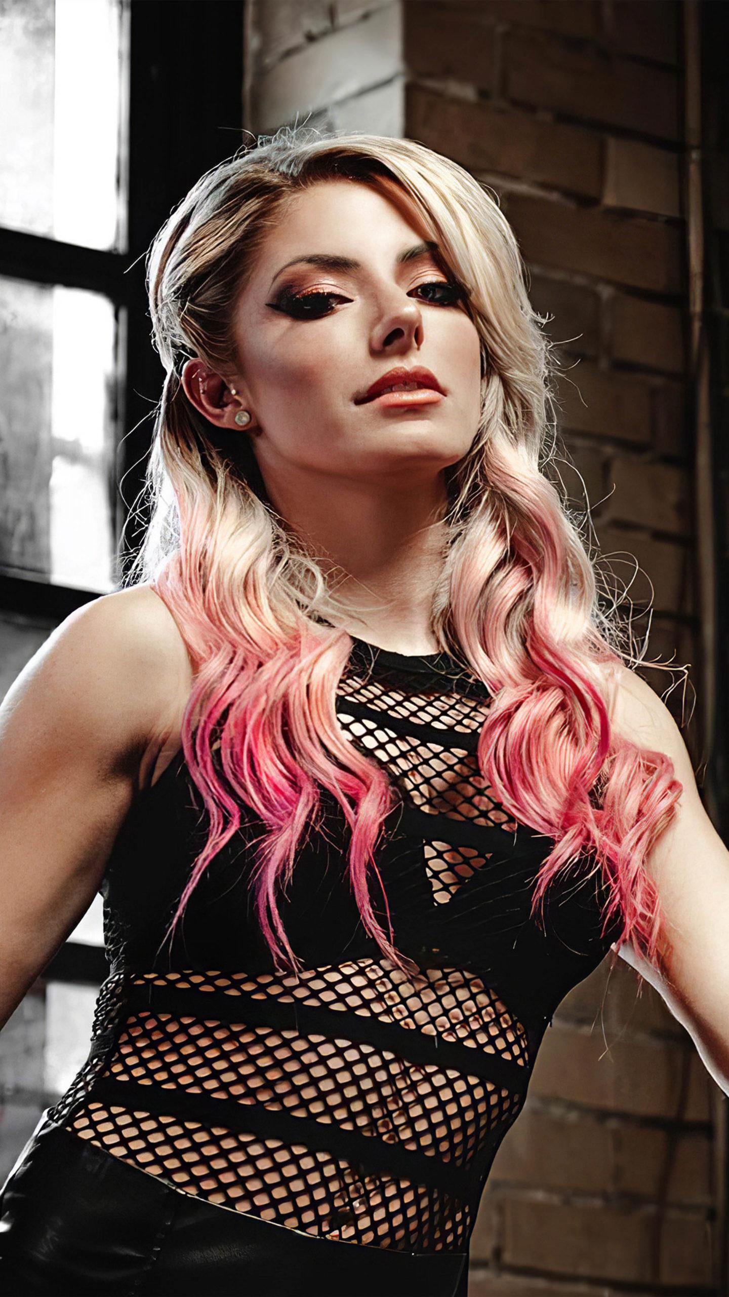 Alexa Bliss WWE Girl 4K Ultra HD Mobile Wallpaper
