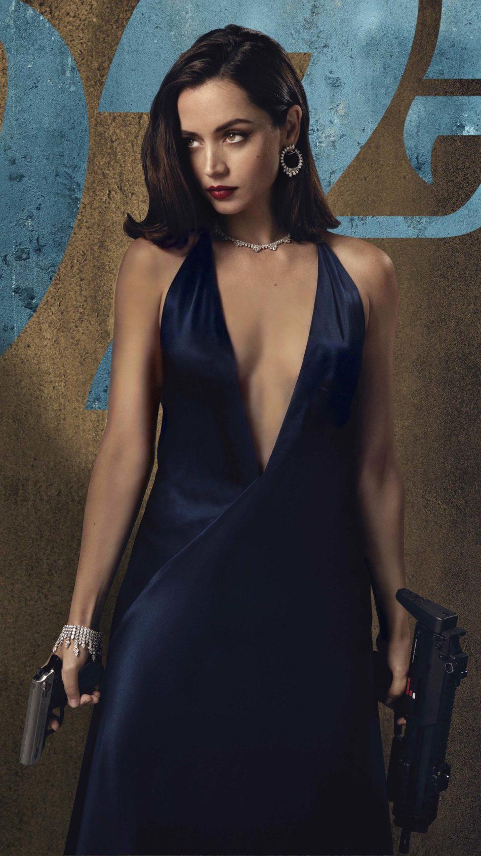 Ana de Armas In No Time To Die 4K Ultra HD Mobile Wallpaper