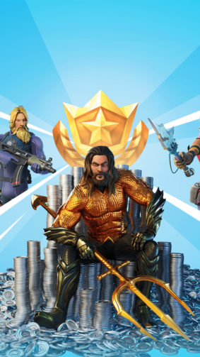 Aquaman Fortnite Skin 4K Ultra HD Mobile Wallpaper