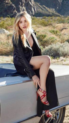 Chloe Grace Moretz 2020 4K Ultra HD Mobile Wallpaper