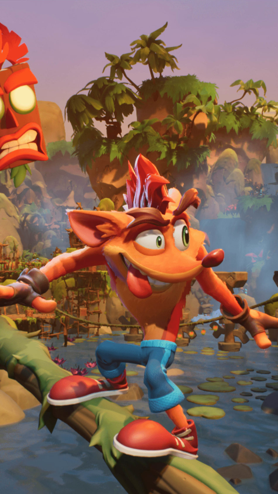 Crash Bandicoot 4 It's About Time Jungle 4K Ultra HD Mobile Wallpaper