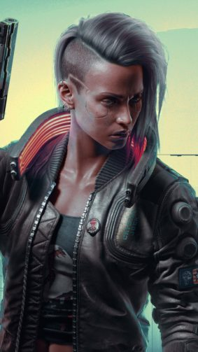 Cyberpunk 2077 Female V 4K Ultra HD Mobile Wallpaper