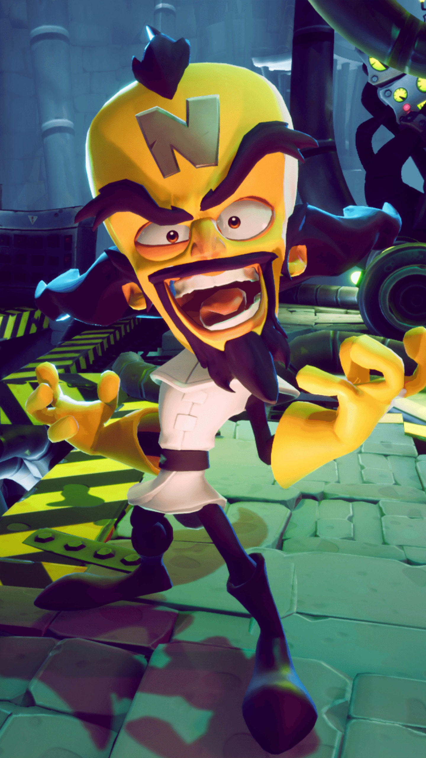Doctor Neo Cortex In Crash Bandicoot 4 It's About Time 4K