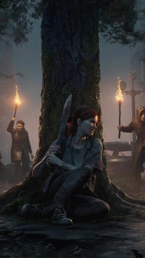 Ellie Hiding The Last of Us 4K Ultra HD Mobile Wallpaper