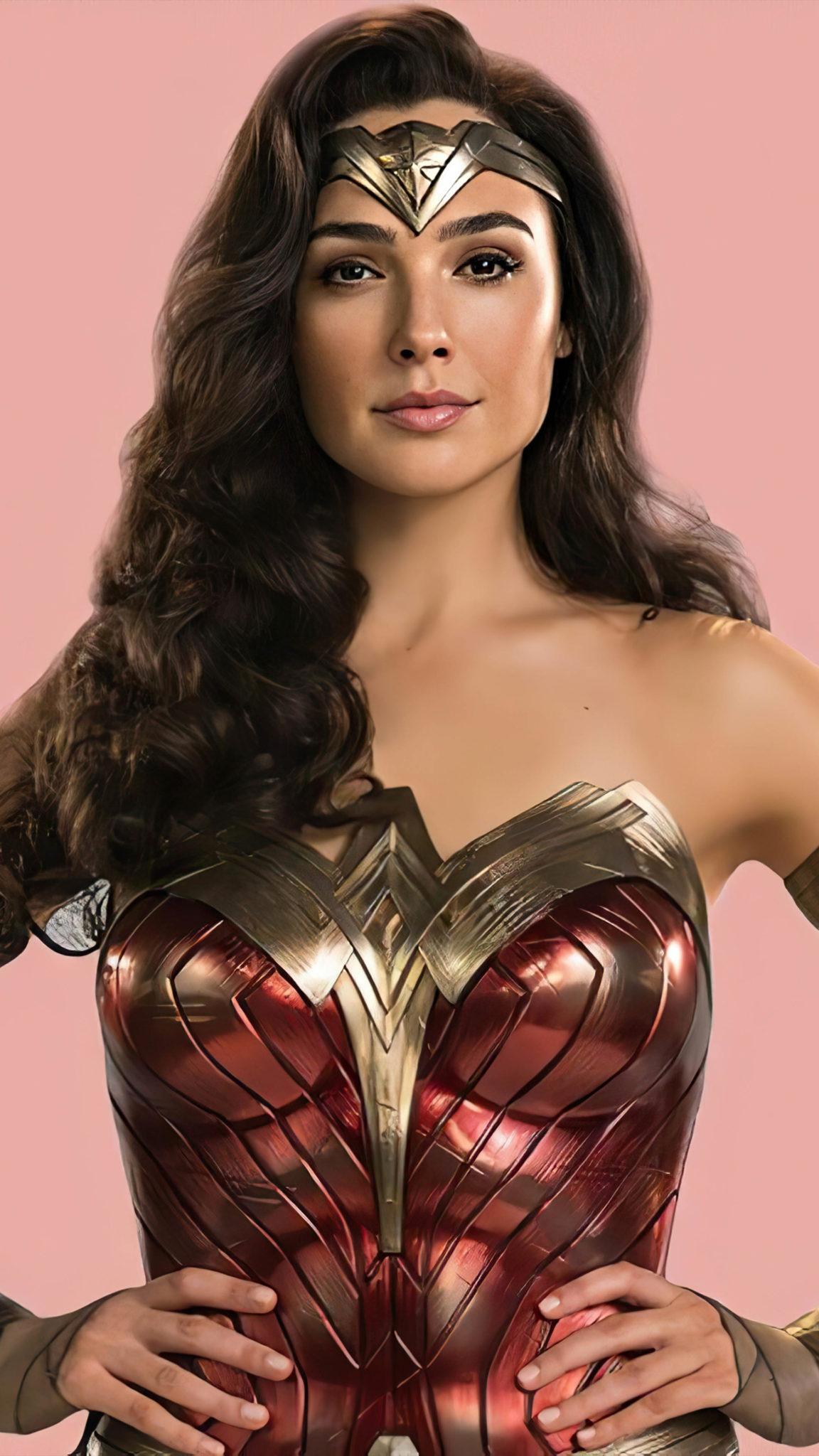 Gal Gadot In Movie Wonder Woman 1984 4K Ultra HD Mobile
