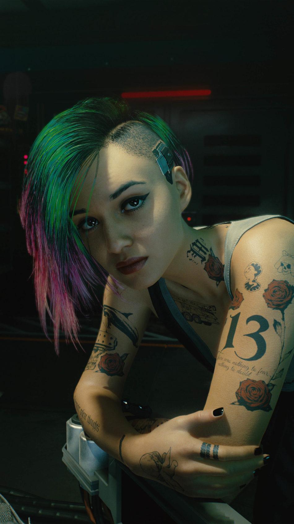 Judy Alvarez Cyberpunk 2077 4K Ultra HD Mobile Wallpaper