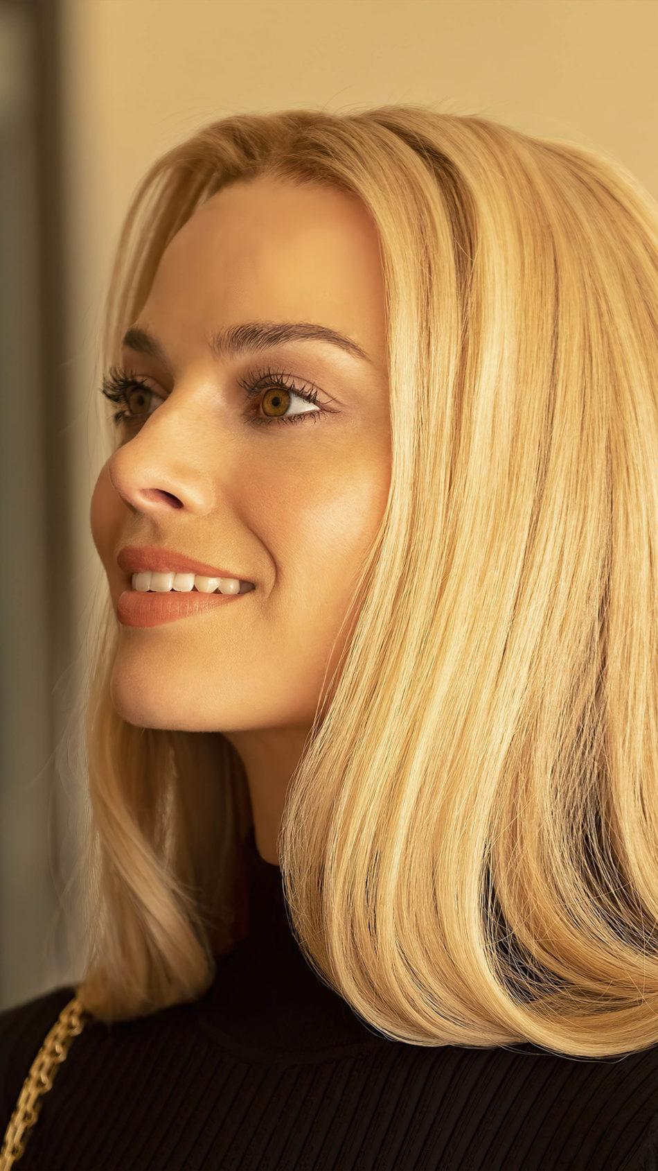Margot Robbie Blonde Hair 4K Ultra HD Mobile Wallpaper