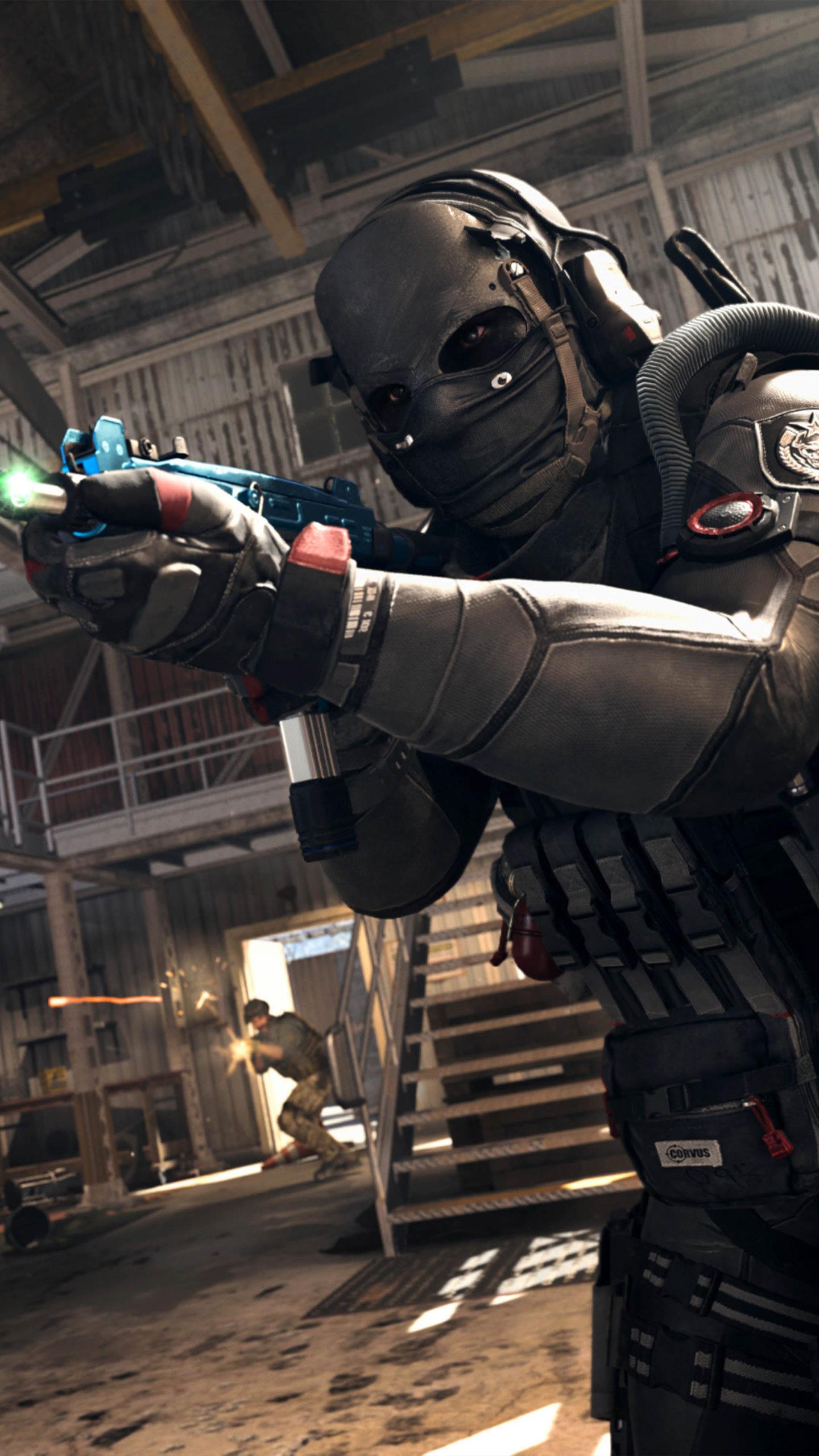 Maskman Call Of Duty Modern Warfare 2020 4k Ultra Hd Mobile Wallpaper