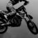 Motocross Black & White 4K Ultra HD Mobile Wallpaper