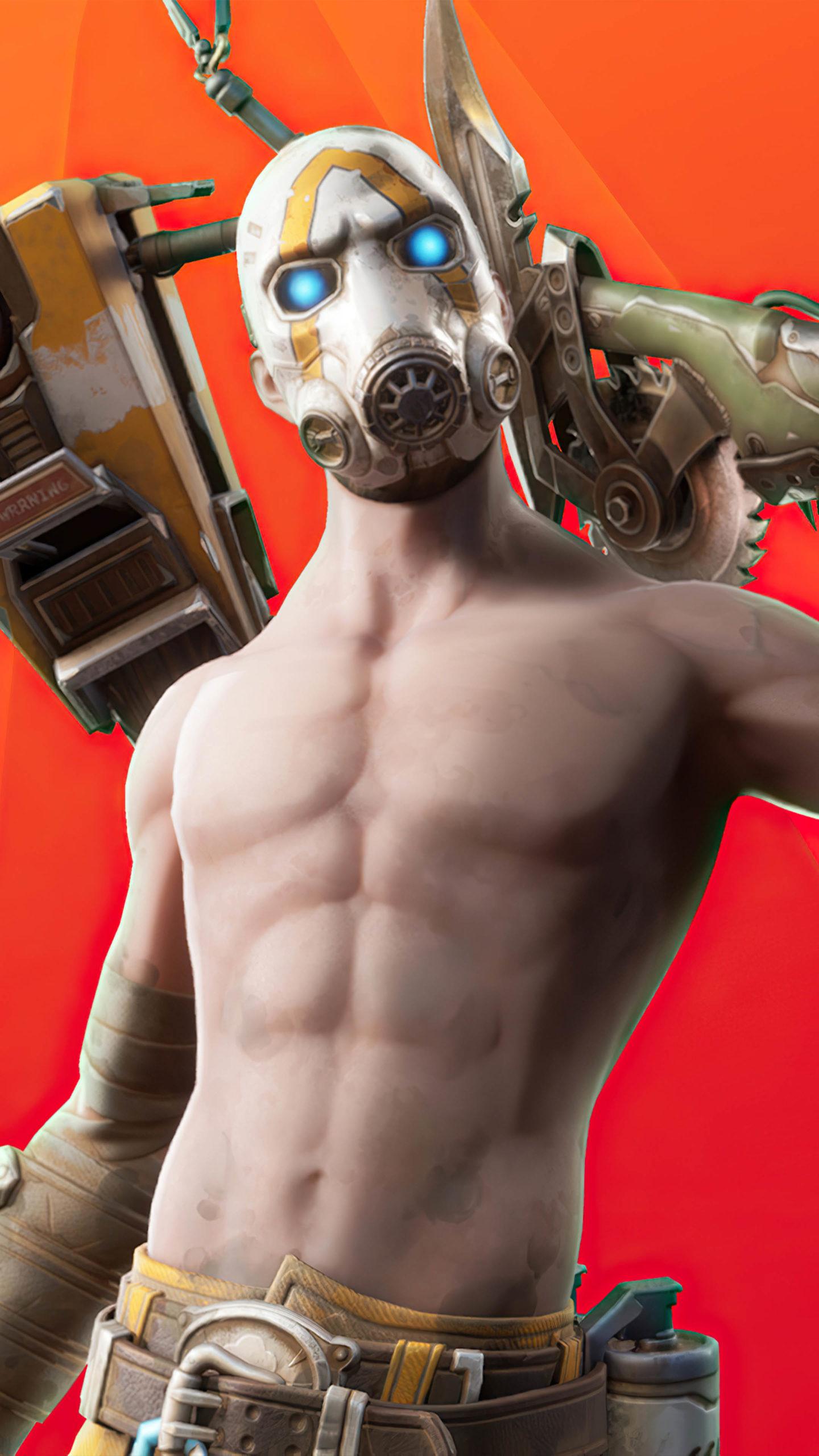 Psycho Fortnite Skin 4K Ultra HD Mobile Wallpaper