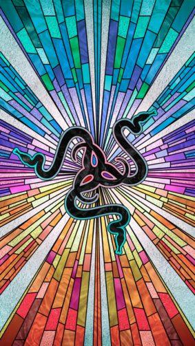 Razer Logo Colorful Background 4K Ultra HD Mobile Wallpaper