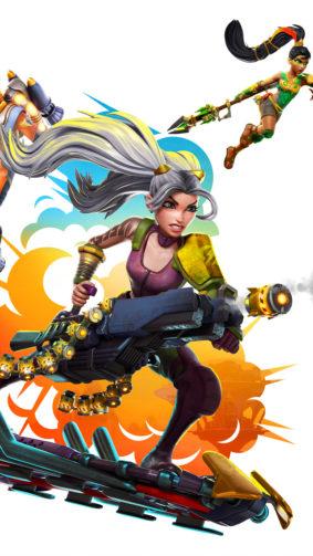 Rocket Arena Video Game Poster 4K Ultra HD Mobile Wallpaper