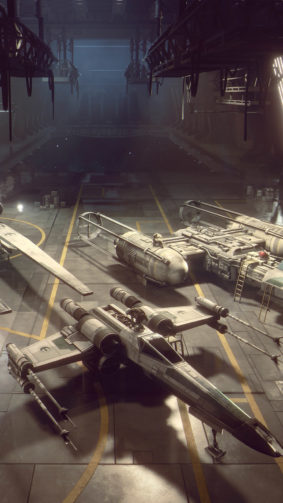 Spaceships Star Wars Squadrons 4K Ultra HD Mobile Wallpaper