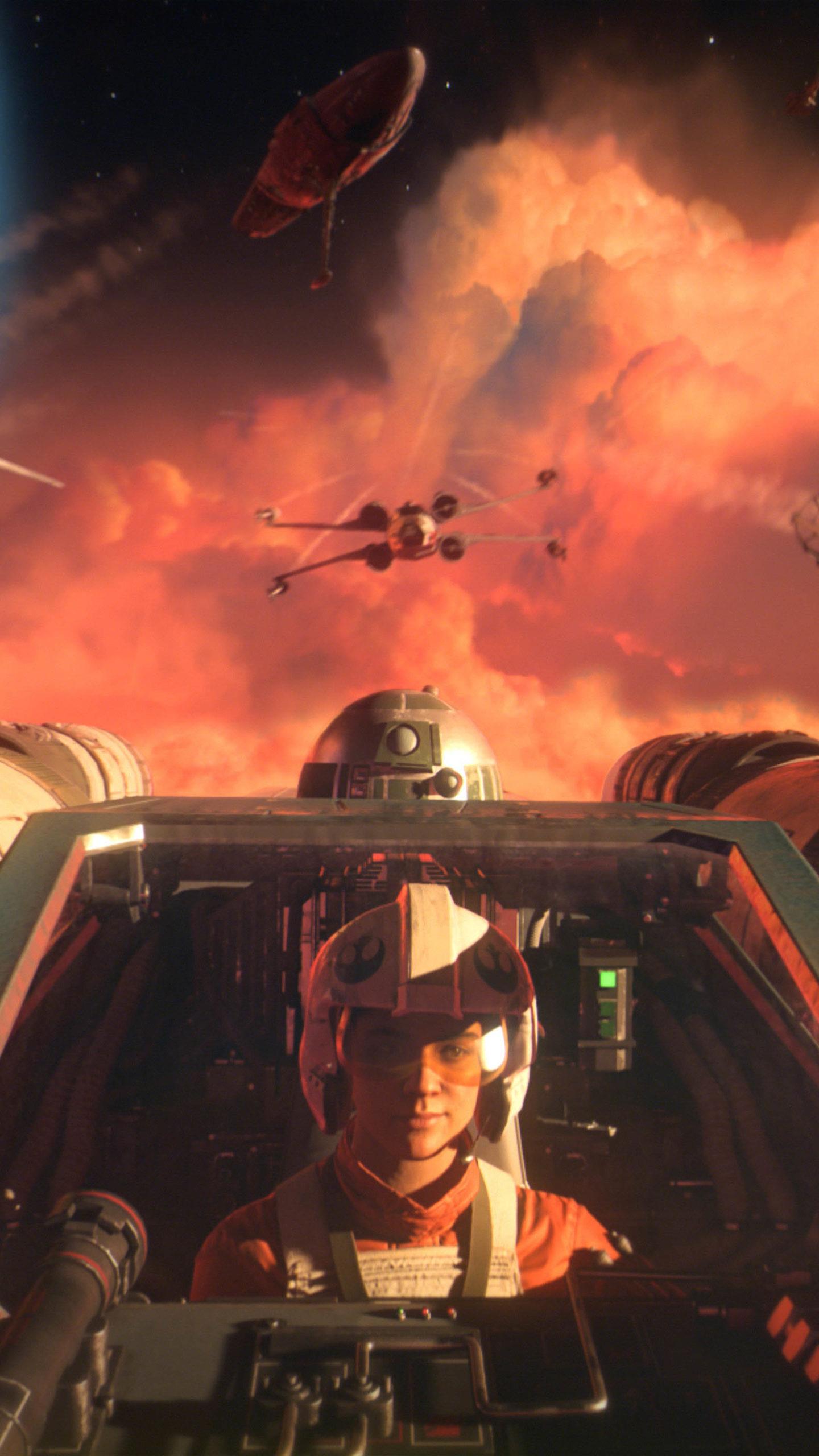 Star Wars Squadrons Battle 4k Ultra Hd Mobile Wallpaper